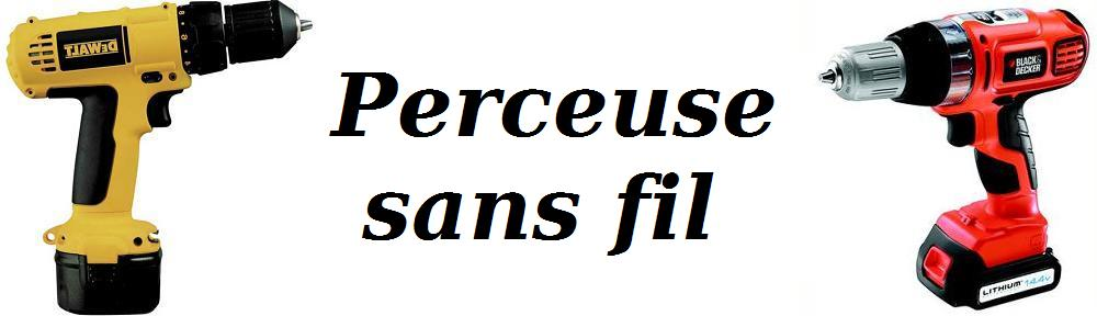 Perceuse sans fil